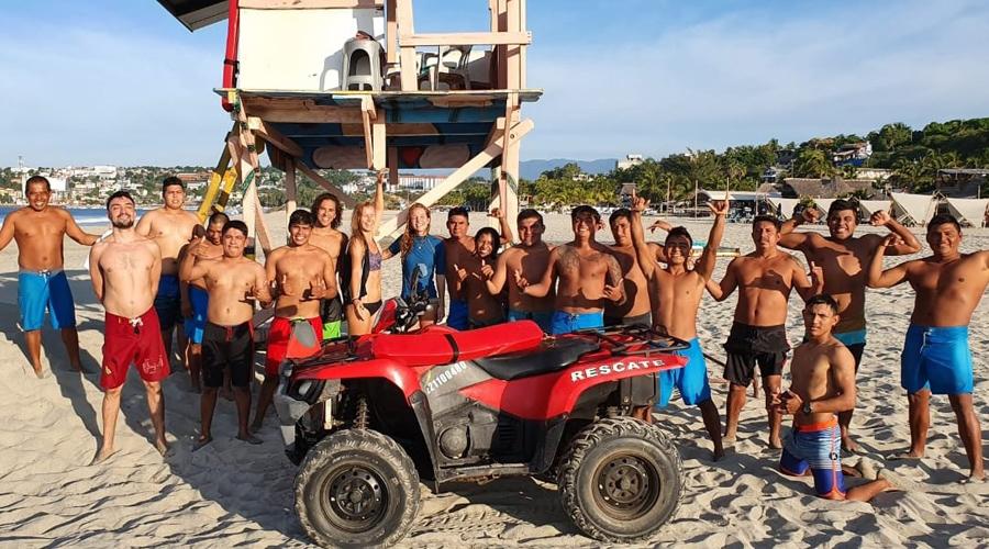 Salvavidas garantizan seguridad en las playas