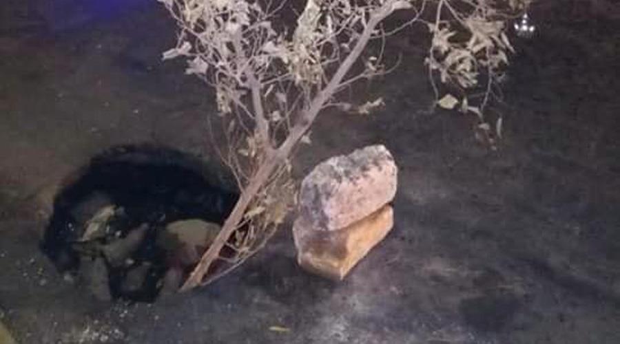 Hoyancos provocan infinidad de accidentes en Salina Cruz