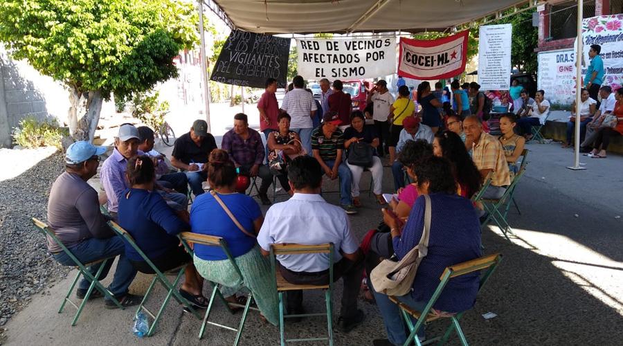 Damnificados se reúnen en encuentro regional
