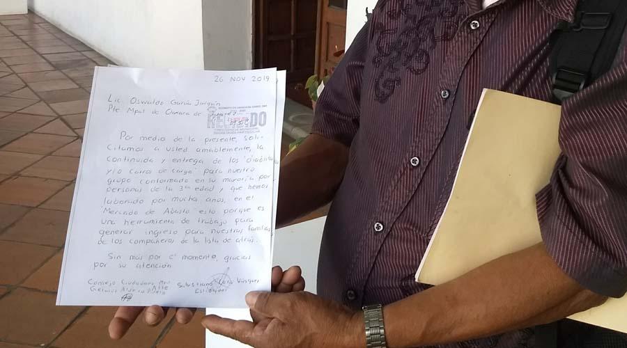Estibadores de la tercera edad piden ser incluidos | El Imparcial de Oaxaca