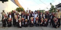Presentan nuevos danzantes de Los Tejorones Cuerudos
