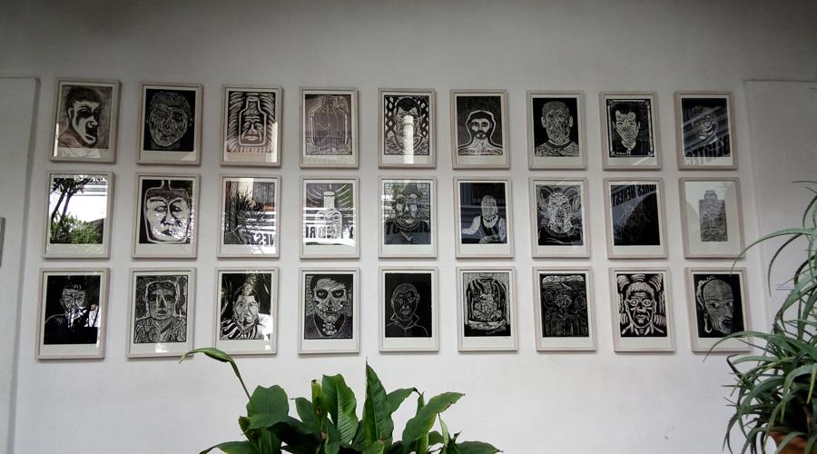 Taller Siqueiros muestra autorretratos del penal de Ixcotel