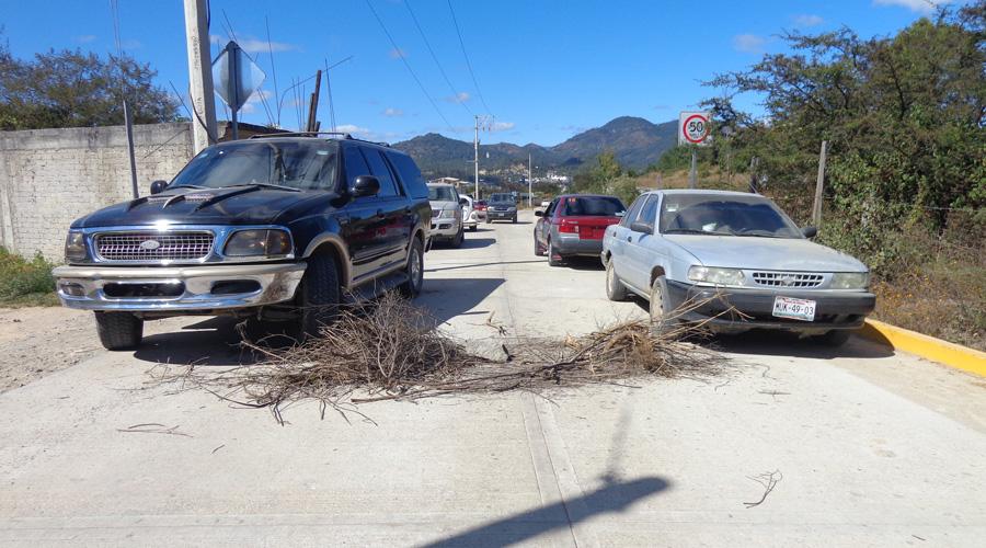 Vuelven las protestas a falta de cumplimiento en Tlaxiaco