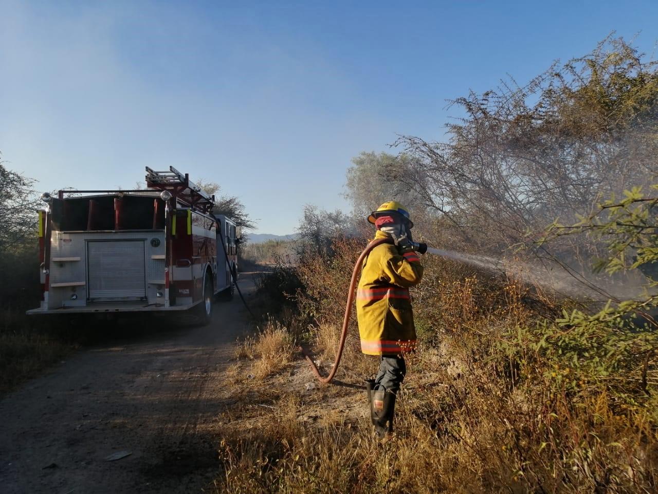 Se incendian pastizales | El Imparcial de Oaxaca