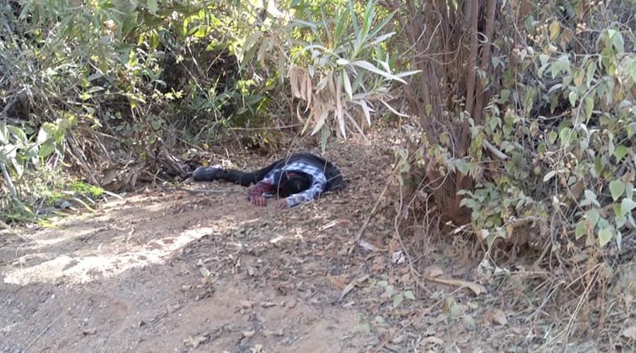 Encuentran cadáver en Miahutlán