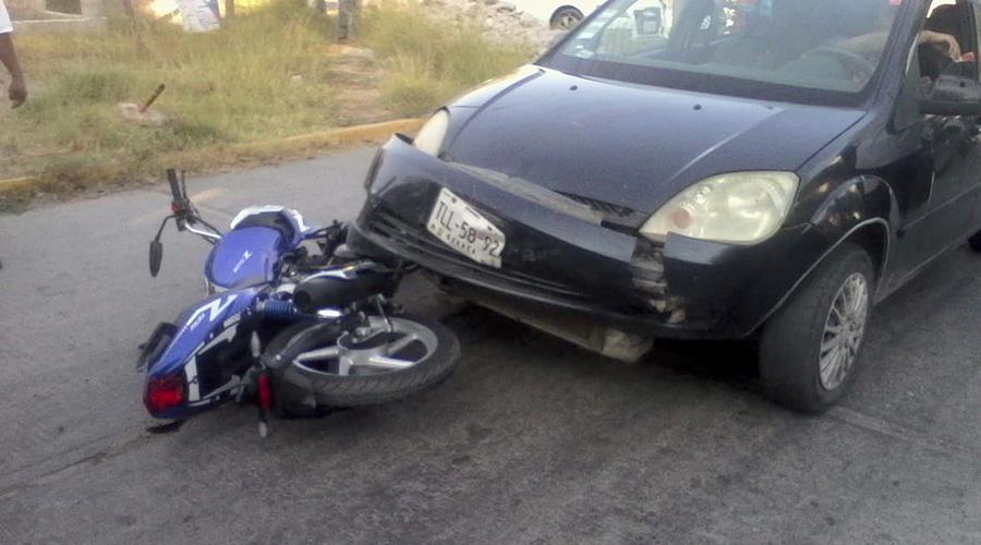 Impactan a un motociclista | El Imparcial de Oaxaca