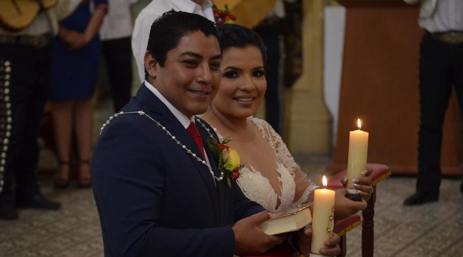 Maribel y Julio César llegan al altar