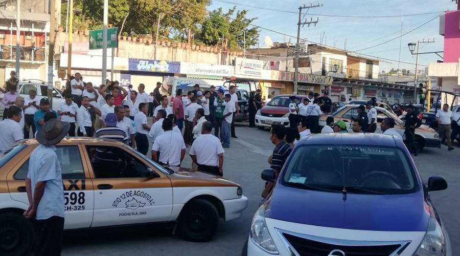 Conato de violencia en Pochutla