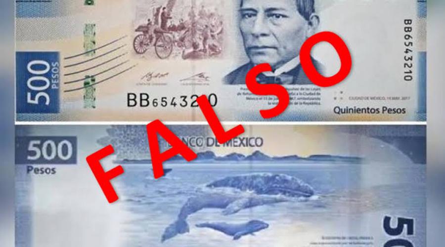 Alerta en Juchitán por billetes falsos