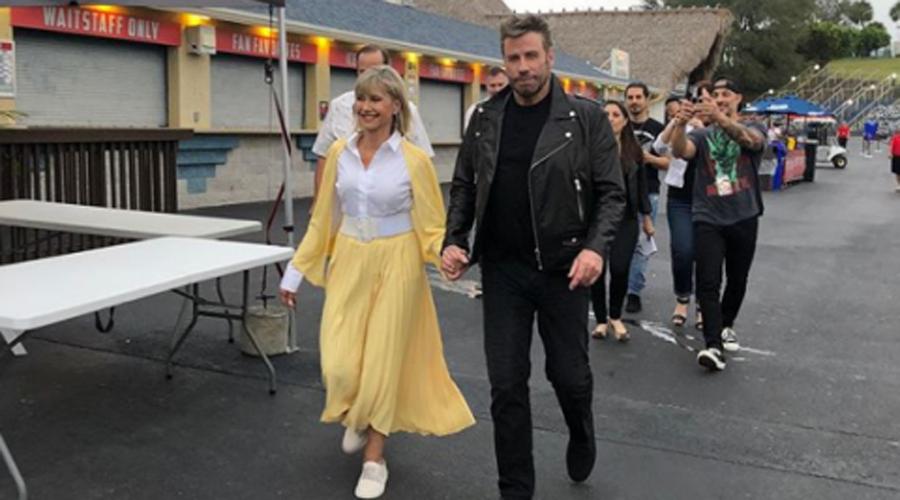 """John Travolta y Olivia Newton-John reviven """"Vaselina"""" a 41 años de la cinta   El Imparcial de Oaxaca"""