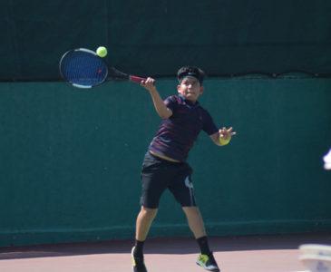 Cae telón en Torneo Estatal de tenis