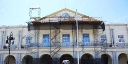 Restauran el Palacio Municipal de Tehuantepec