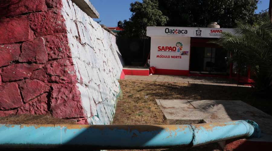 SAPAO deja sin agua potable a la capital