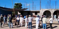 """Rescatan """"tequio"""" en San Pedro Jicayán"""