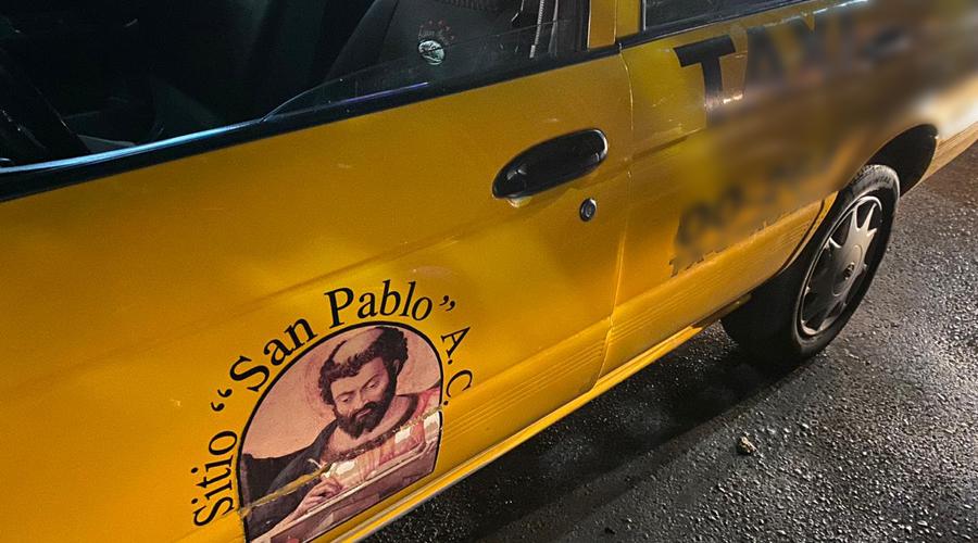 Atracan a taxista en la colonia Volcanes