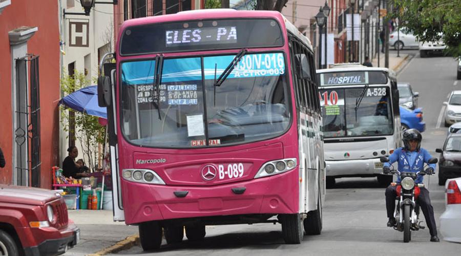 Un robo diario, en transporte público | El Imparcial de Oaxaca