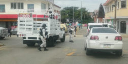 Guardia Nacional realiza operativo contra migrantes en Matías Romero