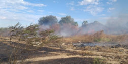 Incendio amenaza a vecinos de Salina Cruz, Oaxaca