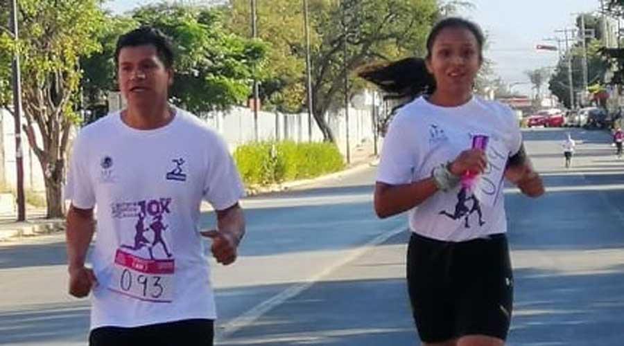 Corren carrera con causa