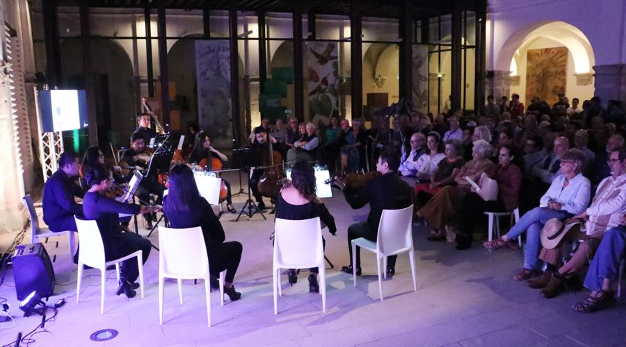 La música enmarca homenaje a Ignacio Toscano