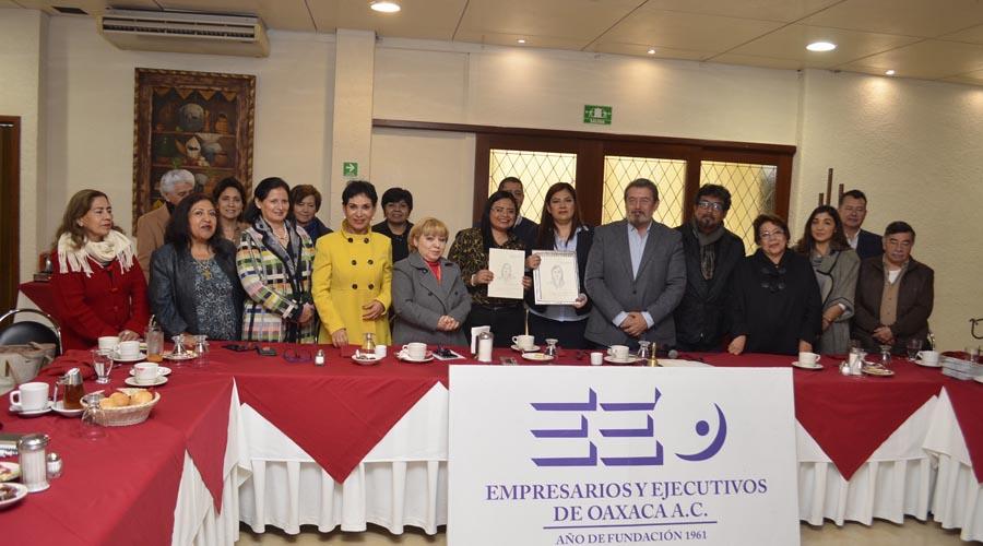 Sesionan Empresarios y Ejecutivos de Oaxaca