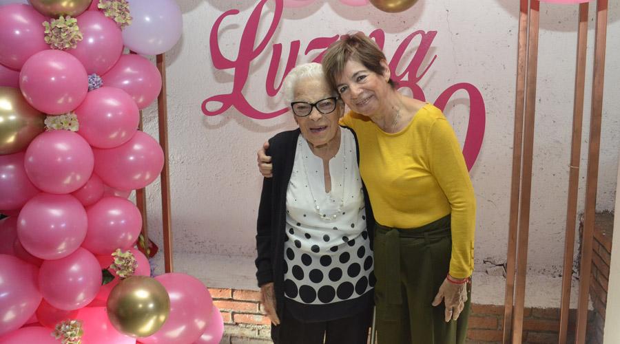 Luz María cumple 90 años