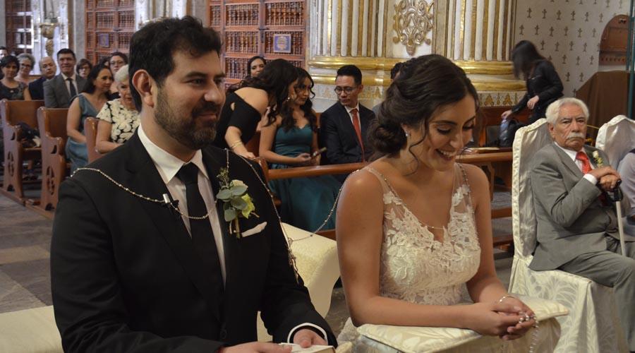 Enlace matrimonial de Guillermo y Jimena