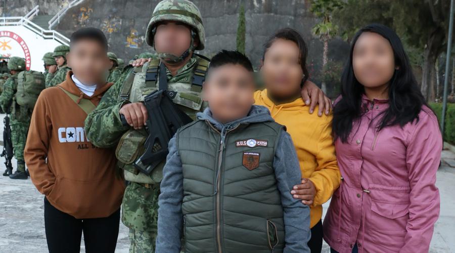 El difícil momento de alejarse de casa, militares: padres, esposos y héroes