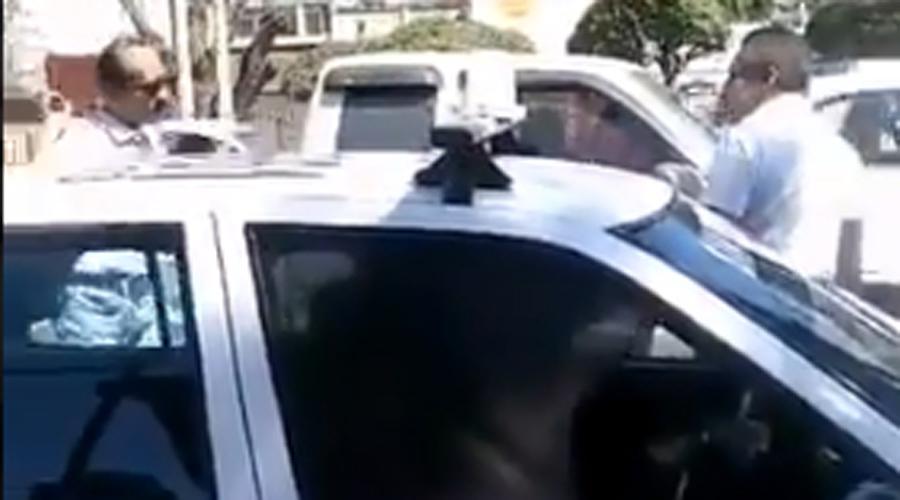 Exhiben a taxistas violentos de la capital de Oaxaca