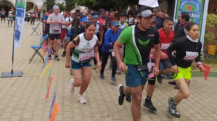 Corrieron en San Pablo Etla