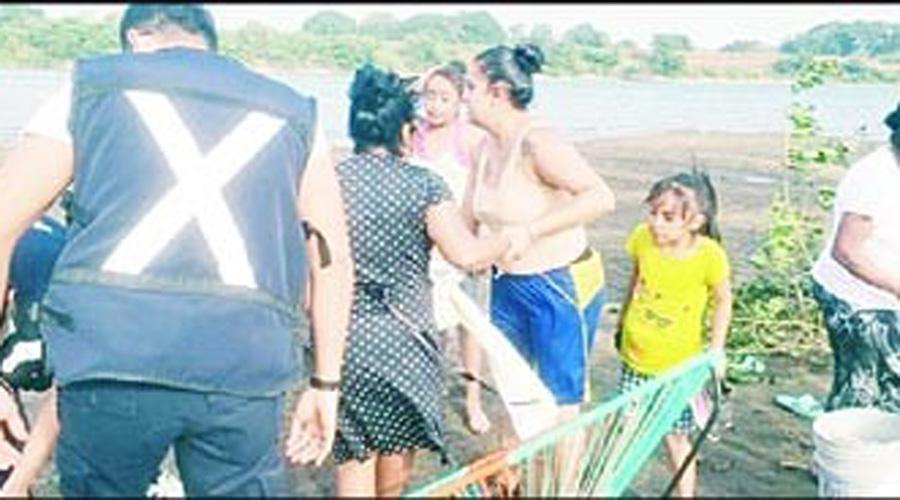 Rescatan cadáver en el río El Papaloapan