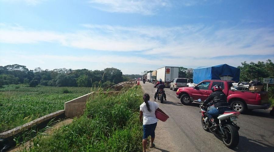Por segundo día no hay paso a Veracruz | El Imparcial de Oaxaca