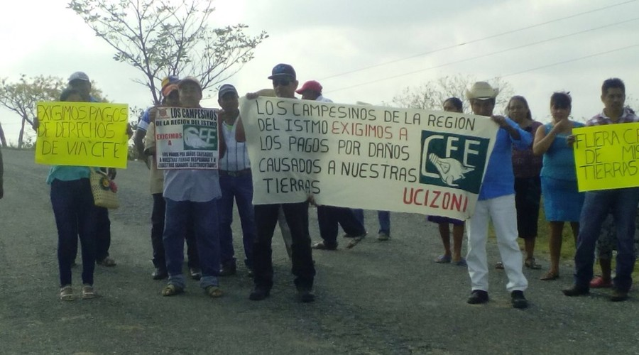Exigen campesinos a CFE pago de afectaciones | El Imparcial de Oaxaca