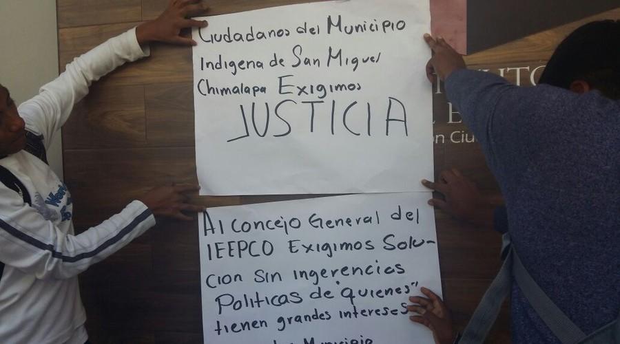 Exigen zoques que se sancione al PRI por vincularse a elecciones | El Imparcial de Oaxaca