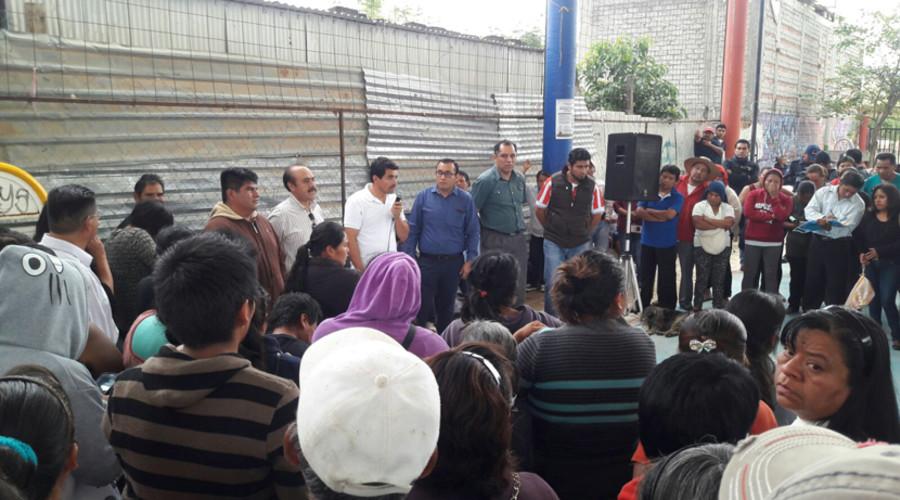 Se realiza asamblea con vecinos de la colonia Vicente Guerrero | El Imparcial de Oaxaca