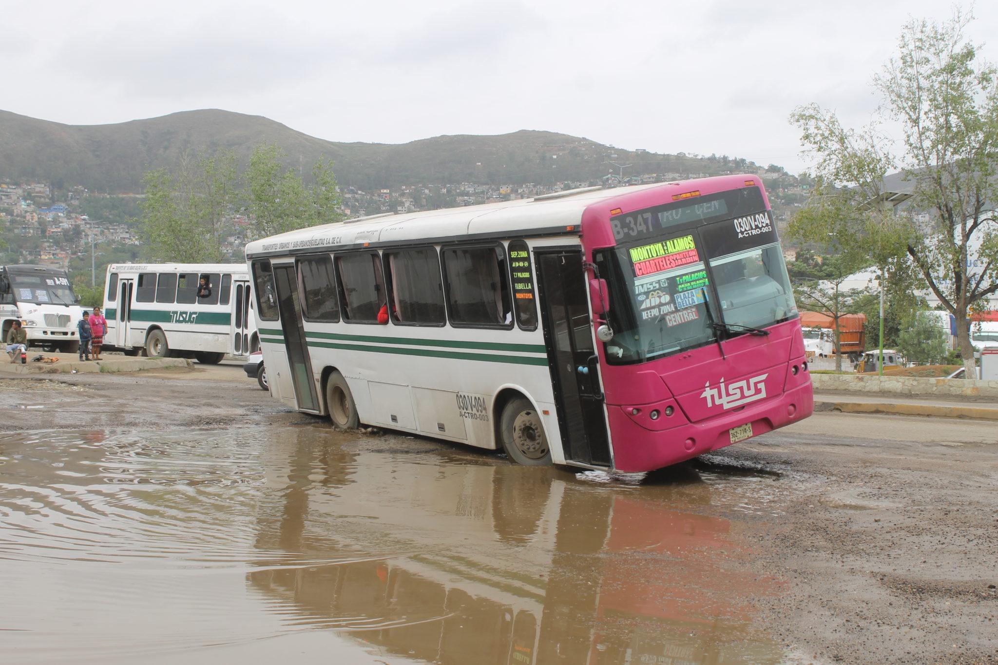 Intransitable lateral de riberas   El Imparcial de Oaxaca