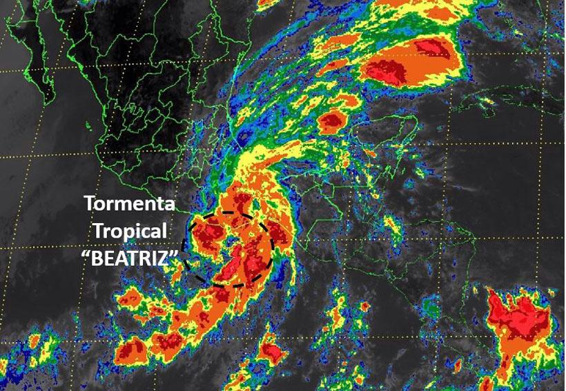 Tormenta tropical Beatríz continua ocasionando lluvias torrenciales en Oaxaca | El Imparcial de Oaxaca