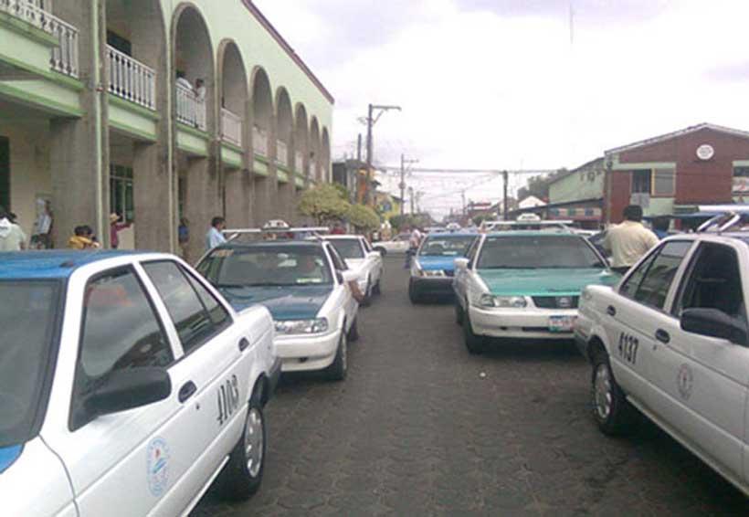 En la Cuenca taxistas realizan colecta para compañeros enfermos | El Imparcial de Oaxaca