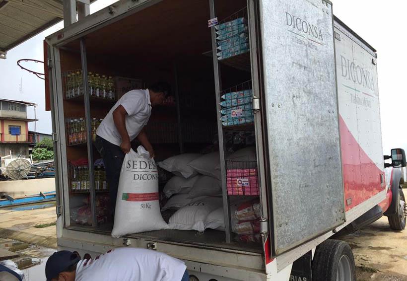 Con puente aéreo Diconsa inició abastecimiento  en el Istmo | El Imparcial de Oaxaca