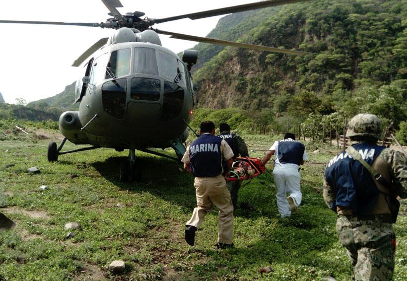 En el Istmo rescatan a mujer de 92 años en helicóptero | El Imparcial de Oaxaca