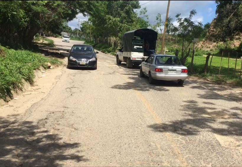 Sin cumplir con reconstrucción de las carreteras en la Costa   El Imparcial de Oaxaca