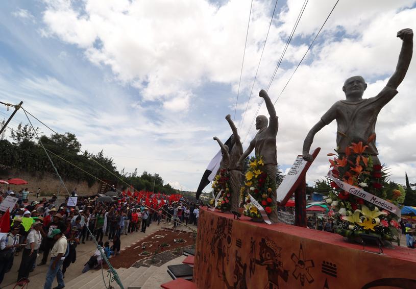 Nochixtlán, el recuerdo de las  heridas abiertas un año después | El Imparcial de Oaxaca