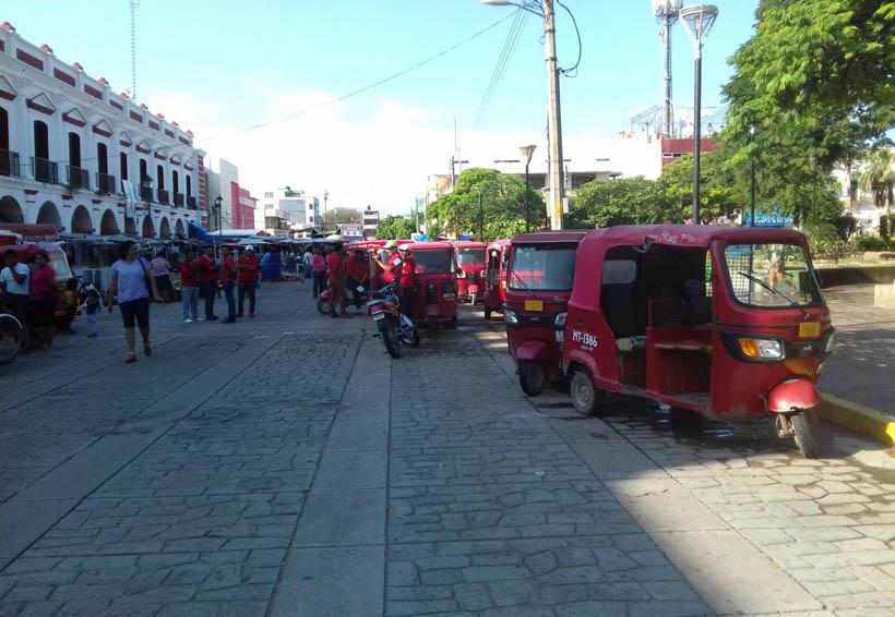 En el Istmo mototaxistas exigen rehabilitación de las calles | El Imparcial de Oaxaca