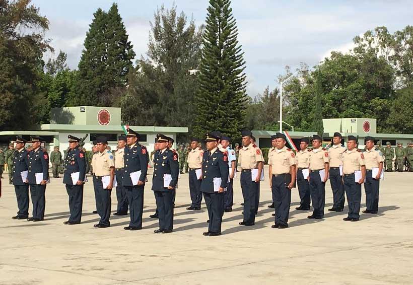 Reconocen a militares ejemplares de la VIII Región de Oaxaca | El Imparcial de Oaxaca