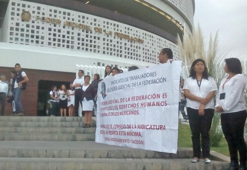Empleados del PJF denuncian hostigamiento | El Imparcial de Oaxaca