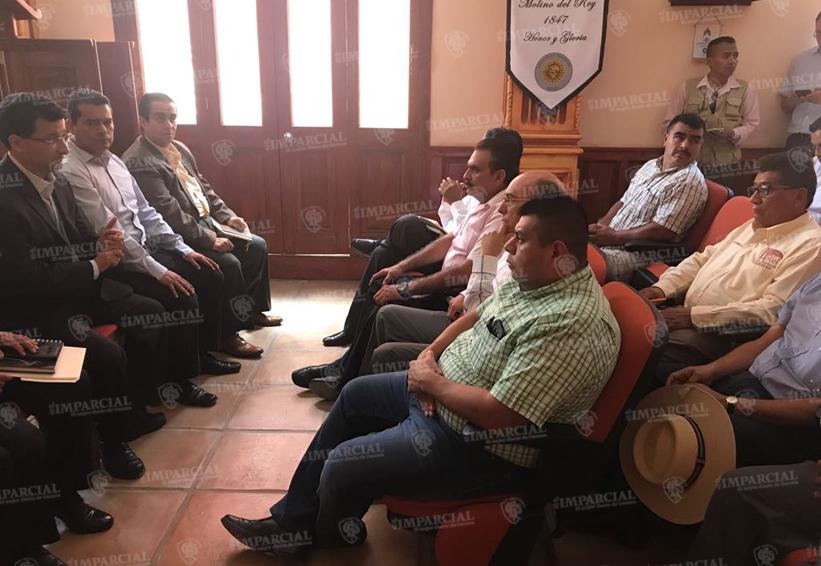 Rubén Vasconcelos sostiene reunión para analizar problemática en seguridad de la región Mixteca | El Imparcial de Oaxaca
