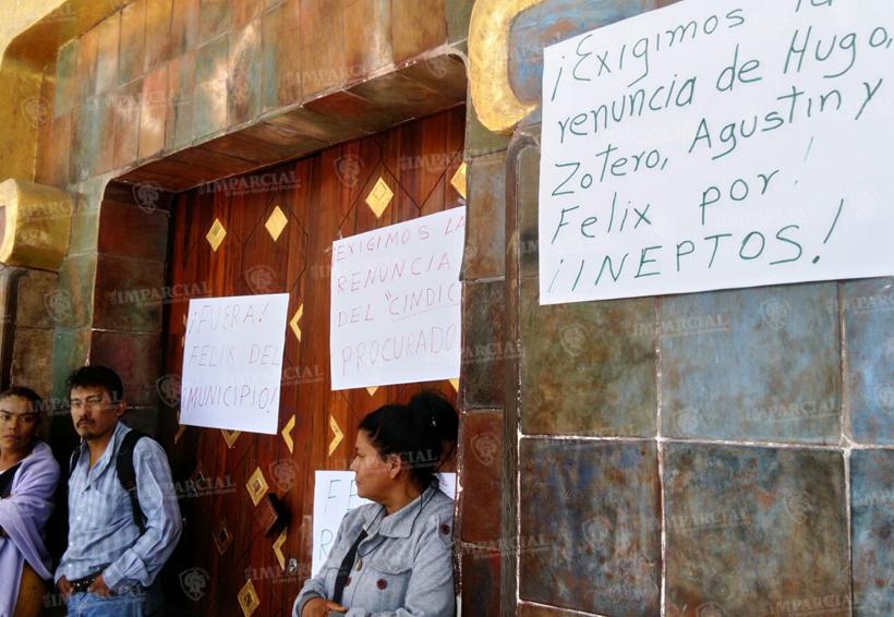 Sindicato Libertad 23 de julio toma palacio municipal en Huajuapan de León | El Imparcial de Oaxaca