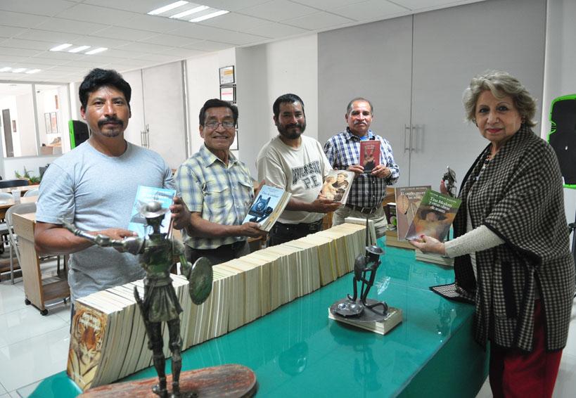 Dona Fundación Cultural Fernández Pichardo libros para biblioteca Rulfo de Luvina | El Imparcial de Oaxaca