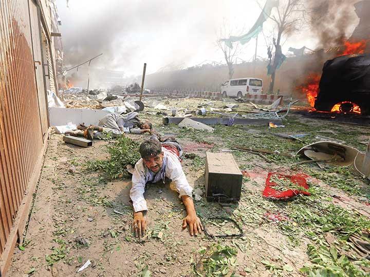 Ataque a zona diplomática; terror en Afganistán   El Imparcial de Oaxaca
