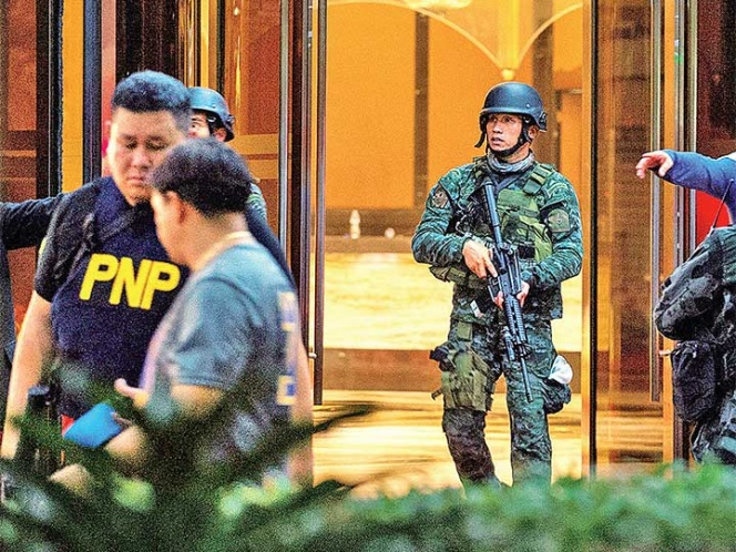 Hombre perpetra ataque en casino de Manila   El Imparcial de Oaxaca